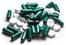 białe i zielone tabletki