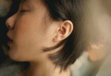 ucho kobiety