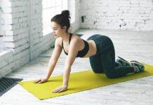 ćwiczenie na kręgosłup